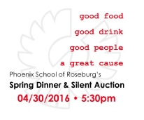 2016 Spring Dinner & Silent Auction Invite