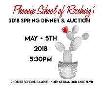 2018 Spring Dinner and Auction Fundraiser