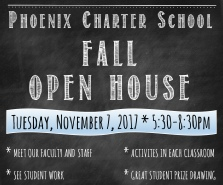 Fall Open House Nov 7 2017